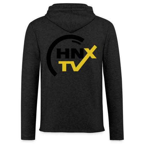 HnxTv Hoodie grau - Leichtes Kapuzensweatshirt Unisex