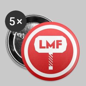 Badges LMF (pack de 5) - Badge moyen 32 mm