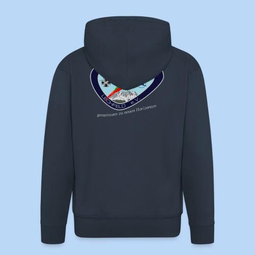 Kapuzen-Jacke mit unserem neuen Logo auf dem Rücken - Männer Premium Kapuzenjacke