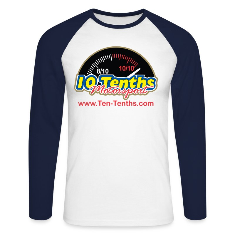 tententhswithurl - Men's Long Sleeve Baseball T-Shirt