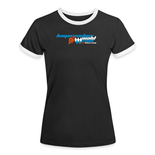 Pfingsten 2018, Frauen Kontrast-T-Shirt 1 - Frauen Kontrast-T-Shirt