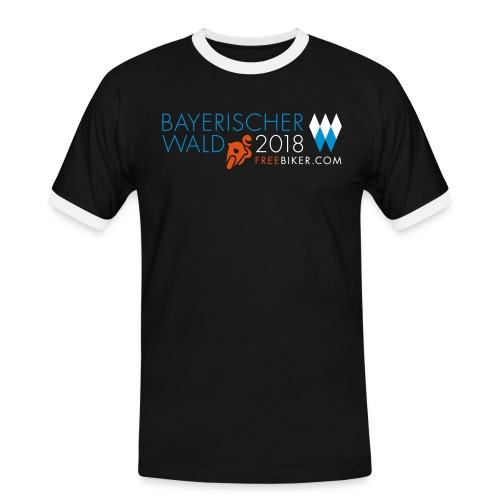 Pfingsten 2018, Männer Kontrast-T-Shirt 2 - Männer Kontrast-T-Shirt
