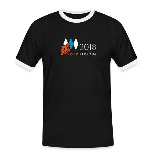 Pfingsten 2018, Männer Kontrast-T-Shirt 3 - Männer Kontrast-T-Shirt