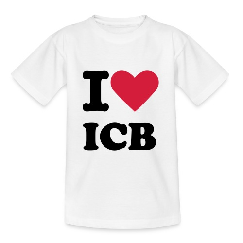 iloveicb-white-child - T-shirt Ado