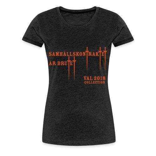 Brutet kontrakt - Premium-T-shirt dam