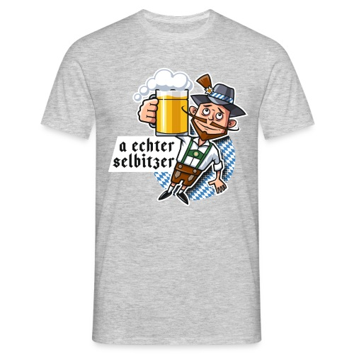 Männer T-Shirt - O'zapft is in Selbitz!