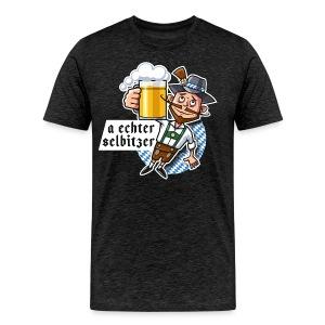 Männer Premium T-Shirt - O'zapft is in Selbitz!
