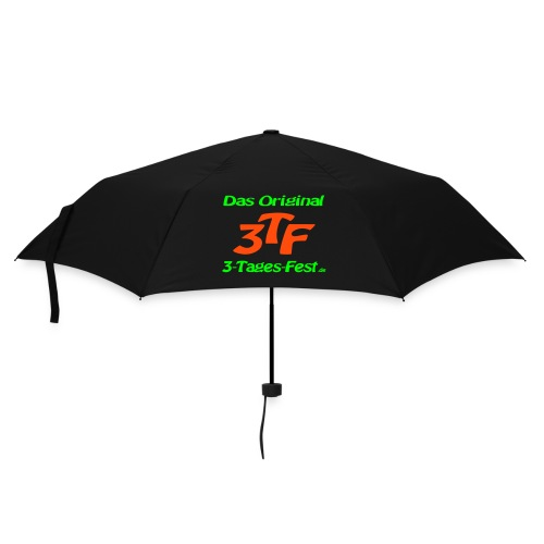 Regenschirm nur vorne mit großem Logo - Regenschirm (klein)