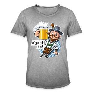 Männer Vintage T-Shirt - O'zapft is!