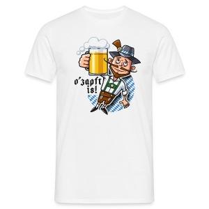 Männer T-Shirt - O'zapft is!