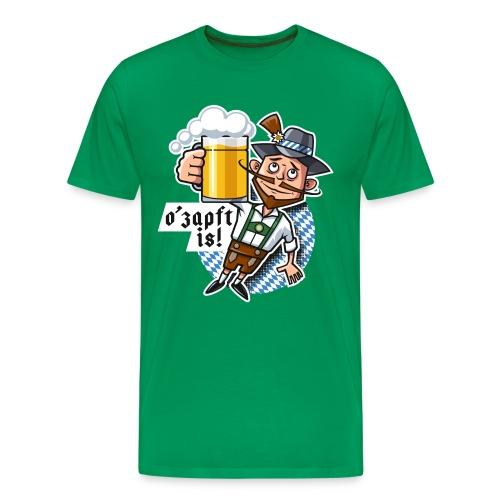 Männer Premium T-Shirt - O'zapft is!