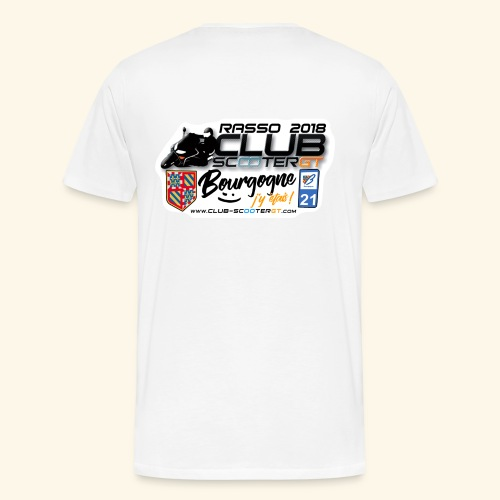 RASSO CSGT 2018 COL ROND DOS HOMME - T-shirt Premium Homme