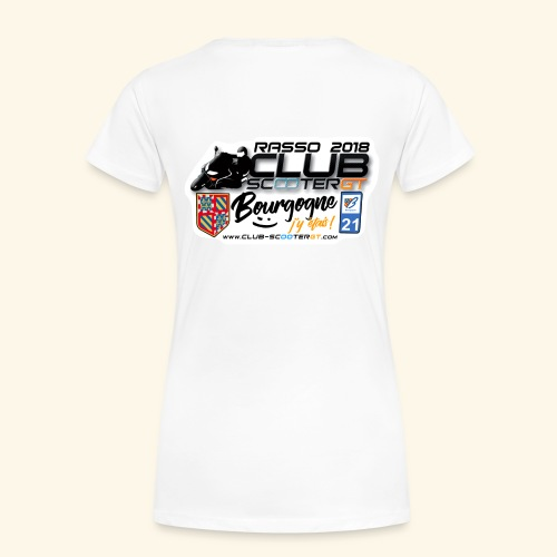 RASSO CSGT 2018 COL ROND DOS FEMME - T-shirt Premium Femme