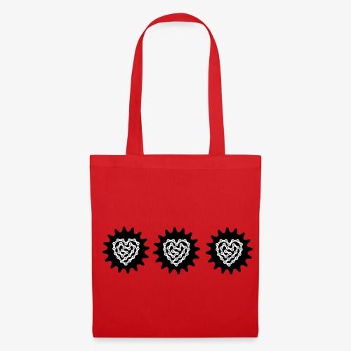 Red Bag of fabric - Tas van stof