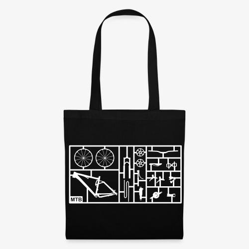 black bag - Tas van stof