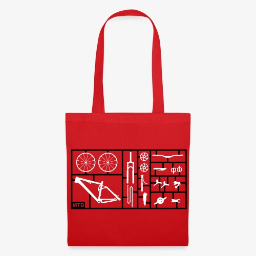 red bag - Tas van stof