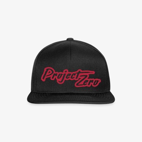 Project Zero lätsä - Snapback Cap