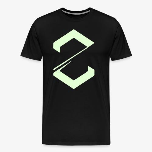Project Zero t-paita (pimeässä hohtava) - Miesten premium t-paita