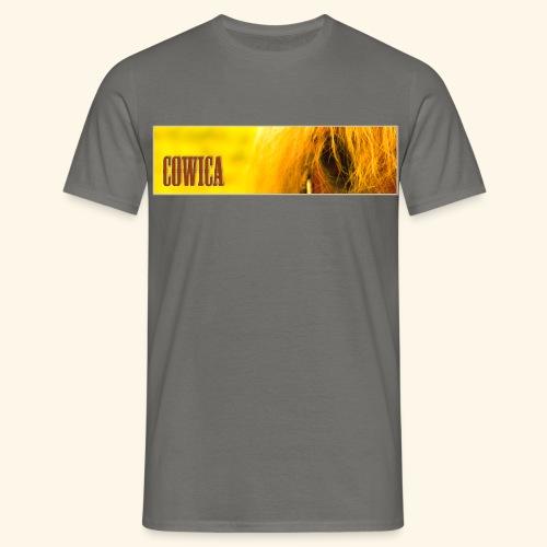 Cowica T-Shirt (Men) grey - Men's T-Shirt