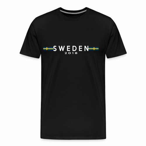 Sweden  - Premium-T-shirt herr