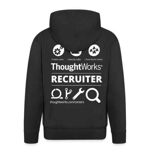 Men's Zip Hoodie Recruiter - Männer Premium Kapuzenjacke
