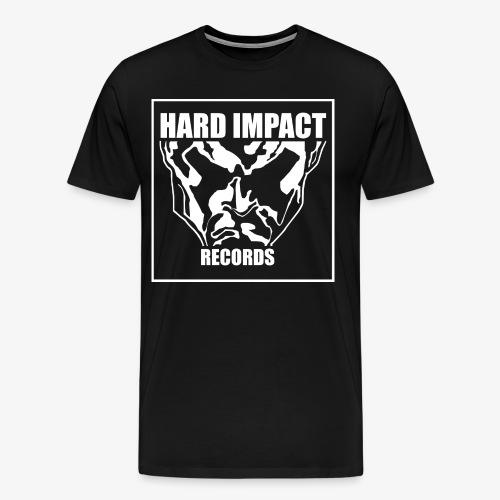 Hard Impact Records T-Shirt Big Logo - Maglietta Premium da uomo