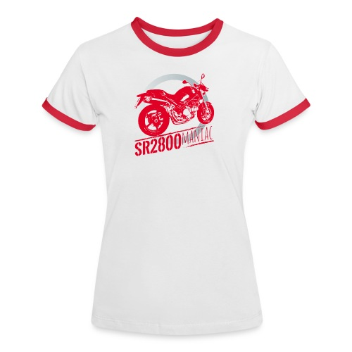 Moto Maniac SR2 800 - Maglietta Contrast da donna