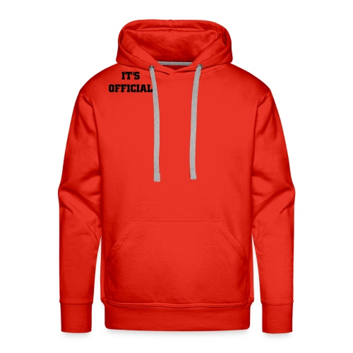 Red Sweater - Men's Premium Hoodie
