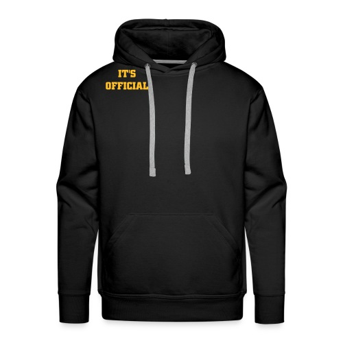 Black Sweater - Men's Premium Hoodie