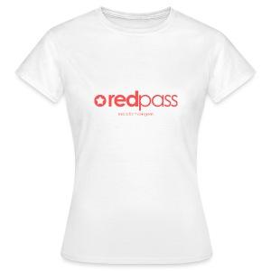 T-shirt femme redpass (blanc) - T-shirt Femme