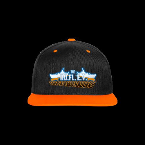 Ro.Fl.-Crew Cap 1 - Kontrast Snapback Cap