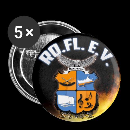Ro.Fl. e.V. Button - Buttons klein 25 mm