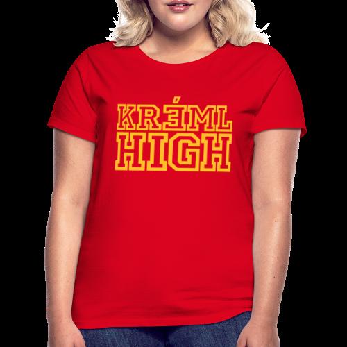 T-shirt dam, KREML HIGH - T-shirt dam