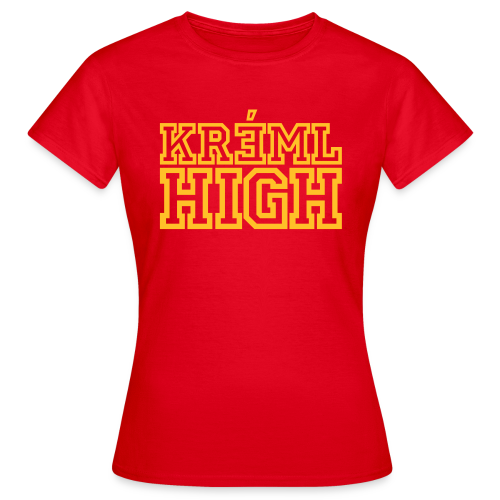 T-shirt dam, KREML HIGH - T-shirt dam