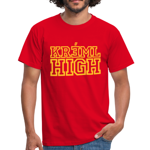 T-shirt, KREML HIGH - T-shirt herr