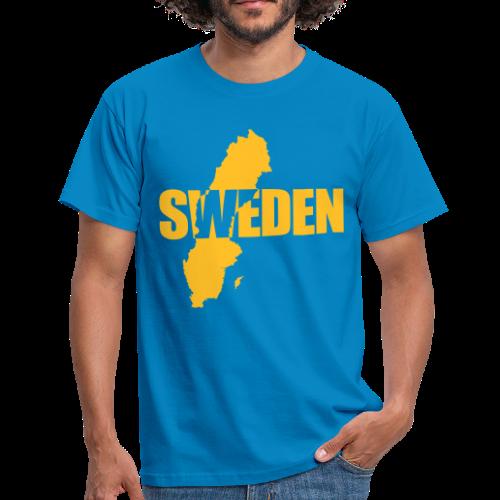 T-shirt, SWEDEN map - T-shirt herr