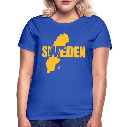 T-shirt dam, SWEDEN map - T-shirt dam