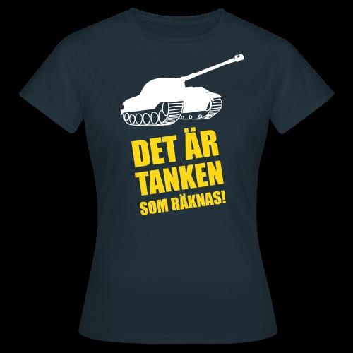 T-shirt dam, Det är Tanken som räknas - T-shirt dam