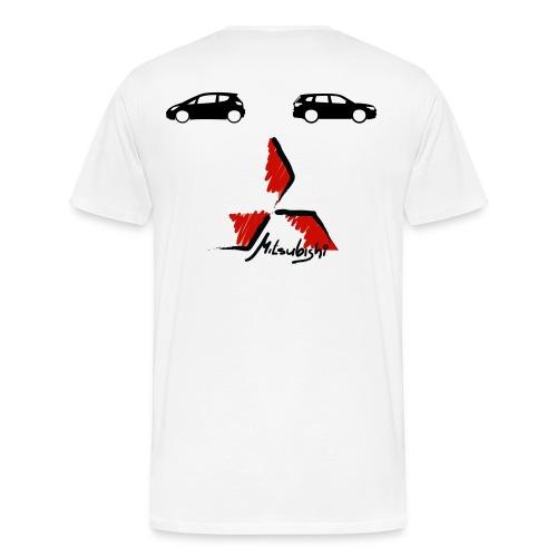 Einfach Flori Shirt - Männer Premium T-Shirt