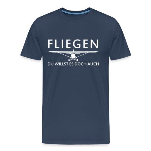 Fliegen - Männer Premium T-Shirt