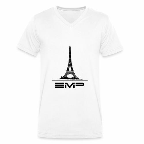 Shirt mit V-Ausschnitt EMP in Paris 2018 (Limited Paris Edition) - Männer Bio-T-Shirt mit V-Ausschnitt von Stanley & Stella