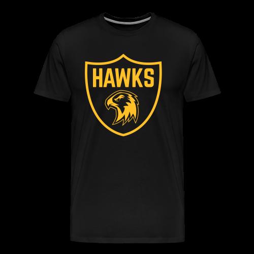 Hawks Crest Shirt Men - Männer Premium T-Shirt
