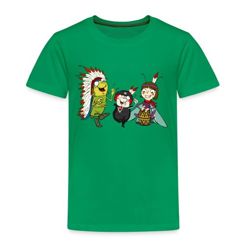 Kinder T-Shirt - Indianer - Kinder Premium T-Shirt