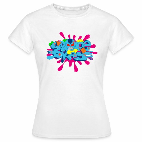 Space Okay  - Frauen T-Shirt