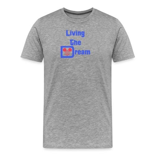 Living The Dream - Splash - Mens - Men's Premium T-Shirt
