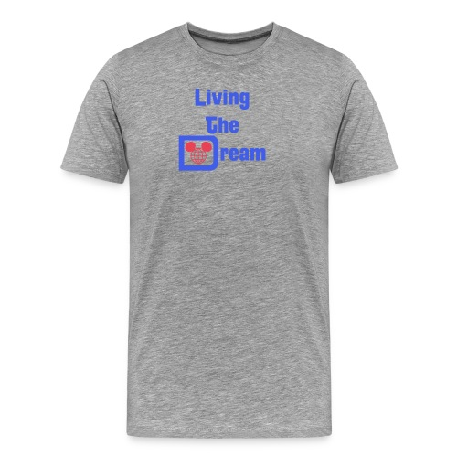 Living The Dream - Splash - Mens - Men's Premium T-Shirt