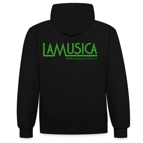 Hoodie LaMusica Herren - Kontrast-Hoodie