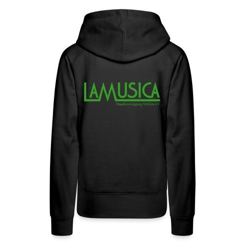 Hoodie LaMusica Damen - Frauen Premium Hoodie