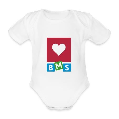 LOVE BMS Baby romper - Baby bio-rompertje met korte mouwen
