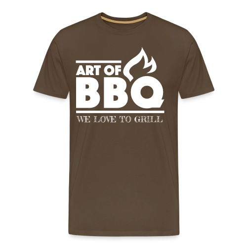 Art of BBQ T-Shirt w - Männer Premium T-Shirt